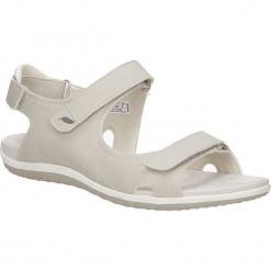 SANDAŁY GEOX D52R6A 000EK. Szare sandały damskie marki Geox, z gumy. Za 198,99 zł.