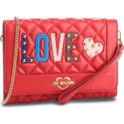 Torebka LOVE MOSCHINO - JC4226PP06KC0500 Rosso. Czerwone torebki klasyczne damskie Love Moschino, ze skóry ekologicznej, zdobione. Za 719,00 zł.