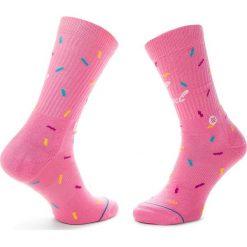 Skarpety Wysokie Damskie STANCE - Glazed M556C18GLA  Pink. Czerwone skarpetki damskie Stance, z bawełny. Za 59,00 zł.