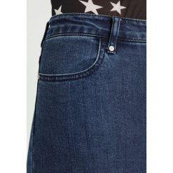 Missguided ANARCHY SEAMED CROSS LACE SKINNY Jeans Skinny Fit blue. Niebieskie boyfriendy damskie Missguided. Za 189,00 zł.
