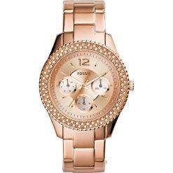 Fossil - Zegarek ES3590. Różowe zegarki damskie marki Fossil, szklane. Za 669,90 zł.