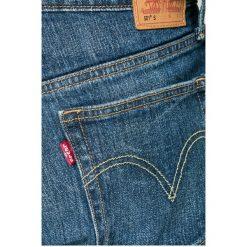 Levi's - Jeansy 501. Brązowe jeansy męskie skinny marki Levi's®, z bawełny. W wyprzedaży za 219,90 zł.