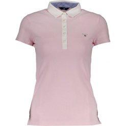 Bluzki damskie: Koszulka polo w kolorze jasnoróżowym