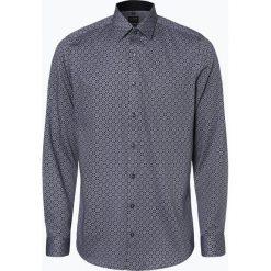 Olymp Level Five - Koszula męska łatwa w prasowaniu, niebieski. Niebieskie koszule męskie na spinki OLYMP Level Five, m. Za 249,95 zł.