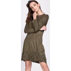 Sukienki: Ciemnozielona Sukienka Originator