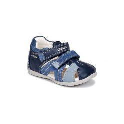 Sandały Dziecko  Geox  B KAYTAN B. C. Niebieskie sandały chłopięce Geox. Za 175,20 zł.