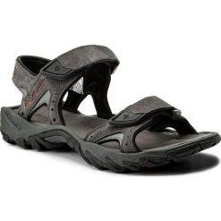 Sandały męskie skórzane: Sandały COLUMBIA – Santiam 2 Strap BM4624  Dark Grey/Rusty 089