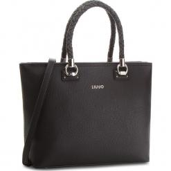 Torebka LIU JO - L Tote Manhattan A68094 E0011  Nero 22222. Czarne torebki klasyczne damskie Liu Jo, ze skóry ekologicznej. Za 689,00 zł.