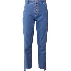 Boyfriendy damskie: 2nd Day MARILL  Jeansy Straight Leg indigo heavy enzyme