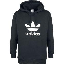 Bluzy męskie: Adidas Originals Trefoil Hoodie Bluza z kapturem czarny