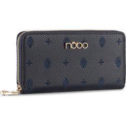 Duży Portfel Damski NOBO - NPUR-D1061-C013 Granatowy. Niebieskie portfele damskie marki Nobo, ze skóry ekologicznej. W wyprzedaży za 99,00 zł.