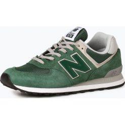 New Balance - Męskie tenisówki ze skóry, zielony. Zielone tenisówki męskie marki New Balance, ze skóry. Za 299,95 zł.