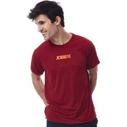 Koszulki sportowe męskie: JOBE Koszulka męska Rashguard Loose Fit Czerwona r. M