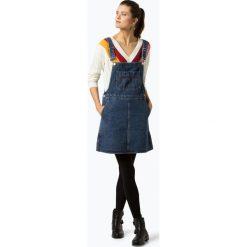 Tommy Jeans - Sukienka damska, niebieski. Niebieskie sukienki balowe marki Tommy Jeans, s, z denimu. Za 539,95 zł.