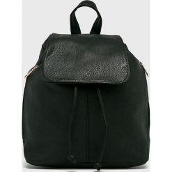 Answear - Plecak. Czarne plecaki damskie ANSWEAR. W wyprzedaży za 69,90 zł.