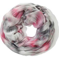 Szaliki damskie: Szal koło kolorowy bonprix różowo-biały