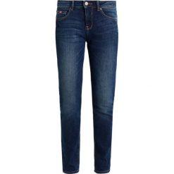 Rurki damskie: H.I.S MONROE Jeansy Slim Fit advanced dark blue wash