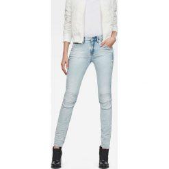 G-Star Raw - Jeansy 5622. Niebieskie jeansy damskie marki G-Star RAW, z bawełny. W wyprzedaży za 379,90 zł.