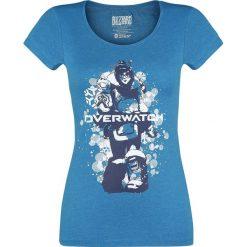 Overwatch It's Gonne Be Mei Koszulka damska odcienie niebieskiego. Niebieskie t-shirty damskie Overwatch, m, z nadrukiem, z okrągłym kołnierzem. Za 42,90 zł.