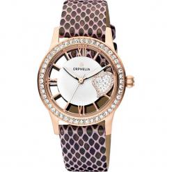 Zegarek kwarcowy w kolorze brązowo-różowozłotym. Brązowe, analogowe zegarki damskie Esprit Watches, ze stali. W wyprzedaży za 227,95 zł.