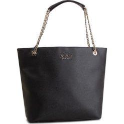 Torebka GUESS - HWEV71 80230 BLA. Czarne torebki klasyczne damskie Guess, z aplikacjami, ze skóry ekologicznej. Za 589,00 zł.