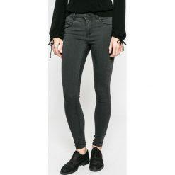 Only - Jeansy. Czarne jeansy damskie marki ONLY, l, z materiału, z kapturem. W wyprzedaży za 79,90 zł.