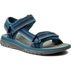 Sandały CLARKS - Balta Reef 261336587 Navy. Niebieskie sandały męskie Clarks, z materiału. W wyprzedaży za 169,00 zł.