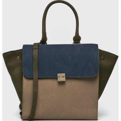 Roxy - Torebka. Szare torebki klasyczne damskie Roxy, w paski, z poliesteru, duże. Za 189,90 zł.