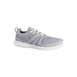Buty do szybkiego marszu Soft 100 damskie. Czarne buty do fitnessu damskie marki Kazar, z nubiku, przed kolano, na wysokim obcasie. W wyprzedaży za 39,99 zł.