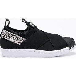 Adidas Originals - Buty Superstar Slip On. Brązowe trampki damskie adidas superstar marki adidas Originals, z bawełny. W wyprzedaży za 339,90 zł.