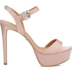 Sandały damskie: Różowe sandały damskie