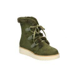 Śniegowce MTNG  58556. Zielone buty zimowe damskie mtng. Za 263,62 zł.