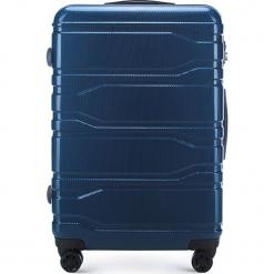Walizka duża 56-3P-983-90. Niebieskie walizki marki Wittchen, z gumy, duże. Za 299,00 zł.