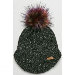 Barts - Czapka. Czarne czapki zimowe damskie marki Barts, na zimę, z dzianiny. Za 149,90 zł.