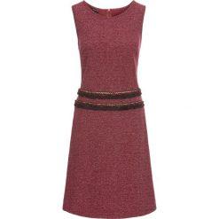 Sukienki hiszpanki: Sukienka z dżerseju z frędzlami bonprix beżowy wzorzysty