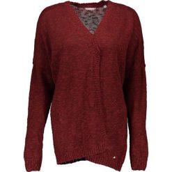 Odzież damska: Kardigan w kolorze ciemnoczerwonym