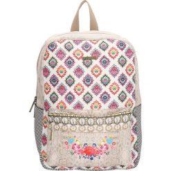 Plecaki damskie: Plecak w kolorze beżowym - 26 x 36 x 12 cm