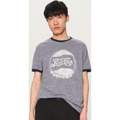 T-shirty męskie: T-shirt z nadrukiem pepsi-cola – Niebieski