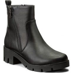 Botki JENNY FAIRY - WAB-1511-R06 Czarny. Czarne buty zimowe damskie marki Jenny Fairy, ze skóry ekologicznej, na obcasie. Za 119,99 zł.