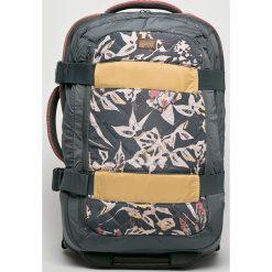 Roxy - Walizka. Szare walizki Roxy, z materiału. W wyprzedaży za 319,90 zł.
