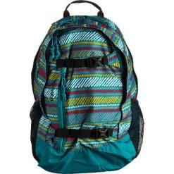 """Plecaki męskie: Plecak """"Dayhiker Paint"""" w kolorze turkusowym ze wzorem – 28 x 43,5 x 17 cm"""