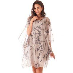 Sukienki balowe: Sukienka w kolorze jasnobrązowym