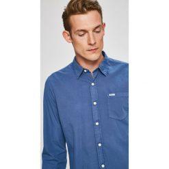 Pepe Jeans - Koszula Rodeo. Szare koszule męskie jeansowe marki Pepe Jeans, l, z klasycznym kołnierzykiem, z długim rękawem. W wyprzedaży za 179,90 zł.
