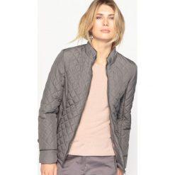 Bomberki damskie: Pikowana kurtka z wykończeniem z Teflonu