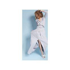 Sukienka Rachel Maxi - Szara. Czarne długie sukienki marki Sinsay, l, z kapturem. Za 279,00 zł.