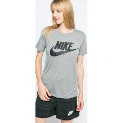 Nike Sportswear - Top. Różowe topy damskie marki Nike Sportswear, l, z nylonu, z okrągłym kołnierzem. Za 139,90 zł.