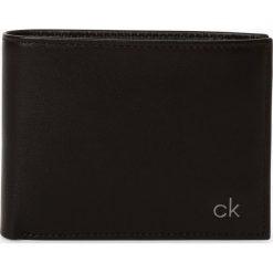 Calvin Klein - Portfel męski ze skóry, czarny. Czarne portfele męskie marki Calvin Klein, ze skóry. Za 329,95 zł.