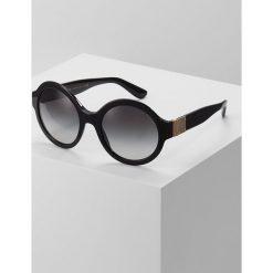 Dolce&Gabbana Okulary przeciwsłoneczne black. Czarne okulary przeciwsłoneczne damskie lenonki Dolce&Gabbana. Za 989,00 zł.