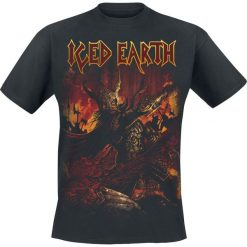 T-shirty męskie: Iced Earth The great heathen army T-Shirt czarny