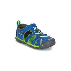 Sandały sportowe Dziecko  Keen  SEACAMP II CNX. Niebieskie buty sportowe chłopięce marki Keen. Za 181,30 zł.